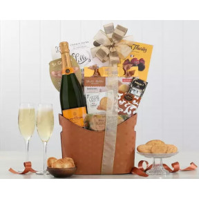 Veuve Clicquot Wine Basket