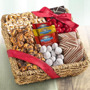 Chocolate, Caramel and Crunch Gift Basket