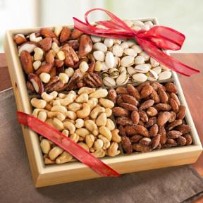 Savory Favorites Assorted Nuts Tray