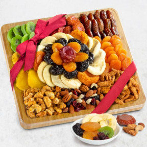Dried Fruit And Gourmet Snacks Gift