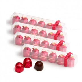 Chocolate Cherry Cordials, Set of 4, 6 pc. each