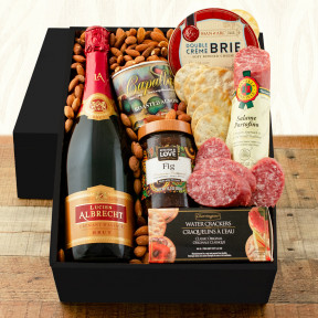 Bubbly and Brie Champagne Gift Box