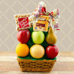 Splendid Sugar Free & Fresh Fruit Gift Basket