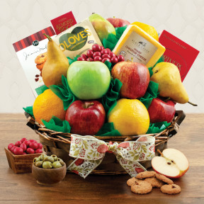 Garden Fresh Fruit Gift Basket
