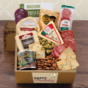 Cheese & Crackers Classic Collection Gift Box - Birthday