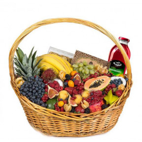 Fruit Exotic Gift Basket