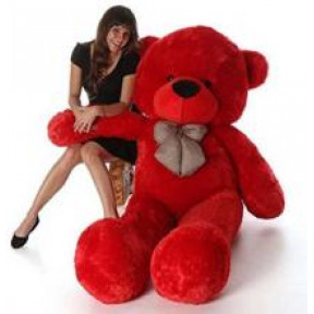 5Ft Red Teddy Bear