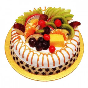 1 Kg Fresh Fruit Cake