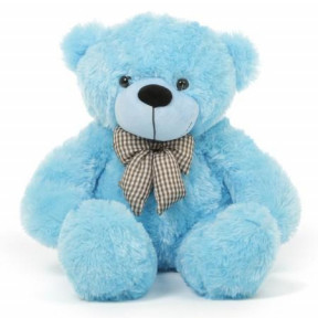 Large Blue Teddy Bear
