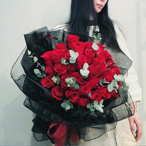 I Love You Bouquet Three Dozen Red Rose To Macau