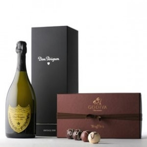 Dom Perignon and GodivaGift Set