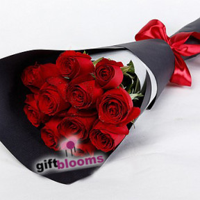 11 Red Rose Bouquet to Macau