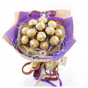 Ferro Rocher Chocolate Flower to Taiwan