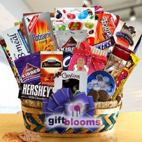 Office Party Snacks Gift Basket