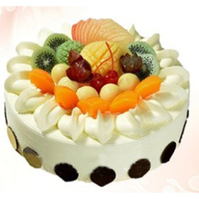 Fruit Cream Cake to Hong Kong