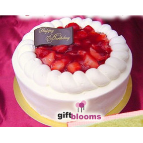 Happy Birthday Strawberry Cake to Japan