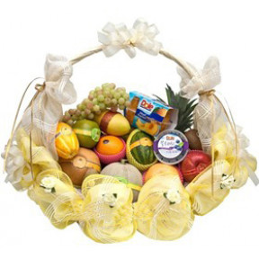 Sympathy Fruit Basket to Japan