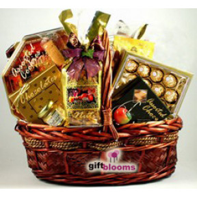 Chocolate and Gourmet Glorious Gift Hampers to Japan