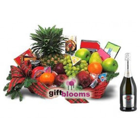Festive Fruit Hamper with Matini to Japan