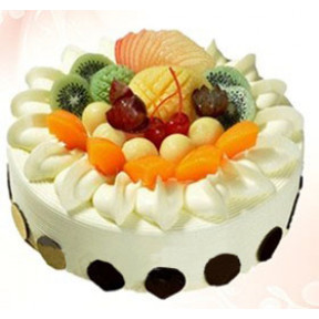Fruit Cream Cake to Macau