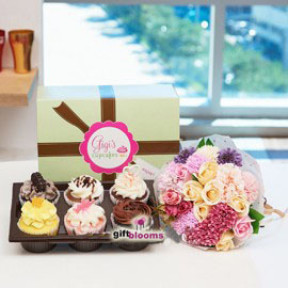 Gigi's Cup Cakes & Flower to South Korea