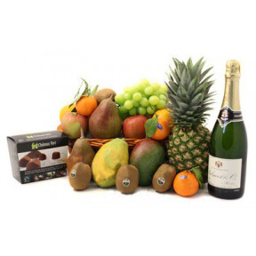 Champagne and Fruit to Taiwan