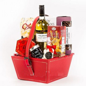 CNY White Wine Hamper to Taiwan