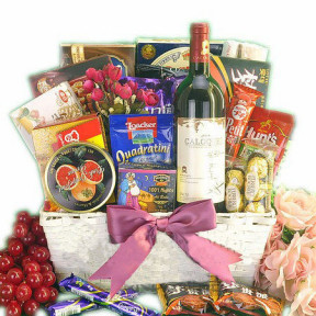 Boutique French Wine Basket