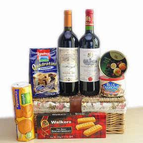 Deluxe Bordeaux Wine Duet Gift Hamper