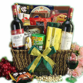 Wine Party Gift Basket