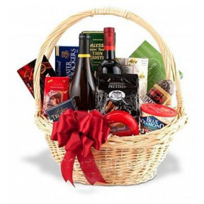 All Occasion Wine Duo Gift Basket To Korea