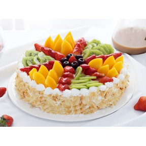 Fresh Fruit Gateau to Indonesia