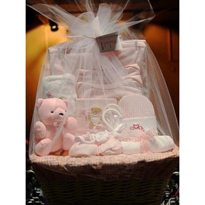 What a Cutie Pie Gift Basket for Girl to Indonesia