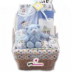 What a Cutie Pie Gift Basket for Boy to Indonesia