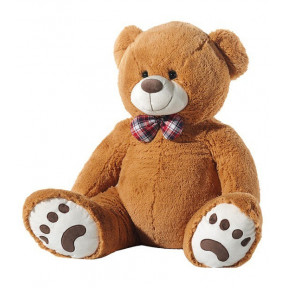 Plush Bear 100 Cm With Brown Bow