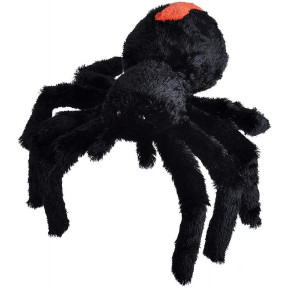 Wild Republic Soft Toy Spider Black 30 Cm