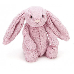 Jellycat Bashful Tulip Pink Bunny Rabbit Medium Stuffed Animal Soft Plush Toy