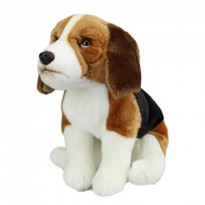 Beagle Puppy Dog Sitting Soft Toy