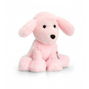 Pink Poodle Plush Toy 14cm Pippins by Keel Toys