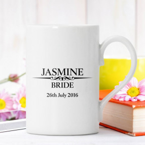 Heritage Wedding Female Personalised Windsor Mug