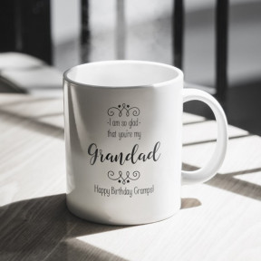 I Am So Glad That You're My... Personalised Mug