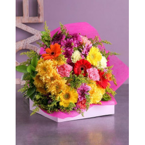 Marvellous Mixed Flower Bouquet (Small)
