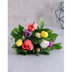 Mixed Tulip Bouquet (10 Tulips)