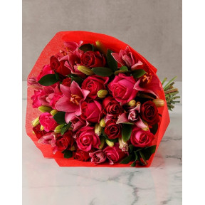 Ravishing Colours Of Love Bloom Bouquet