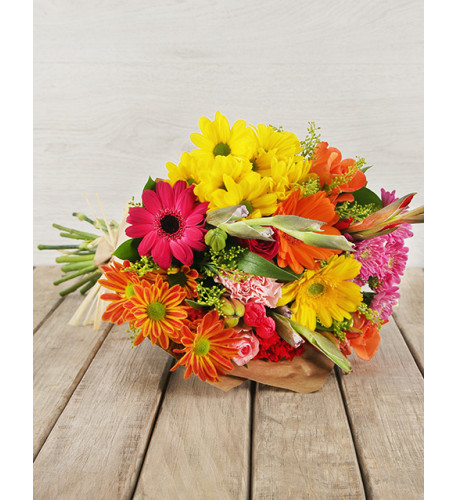Mixed Bouquet of Bright Flowers (Small)
