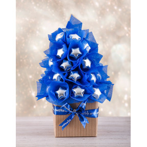 Blue And Silver Edible Tree