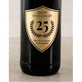 Golden Anniversary Personalised Wine