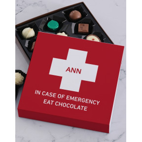 Personalised Emergency Chocolate Tray