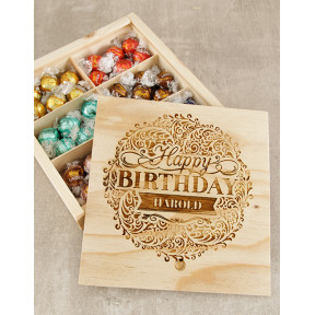 Personalised Birthday Bliss Lindt Box