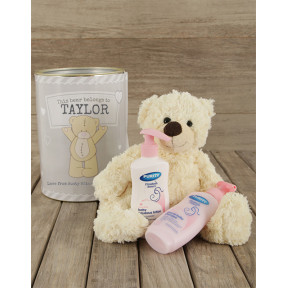 Personalised Baby Gift Tin (Standard)